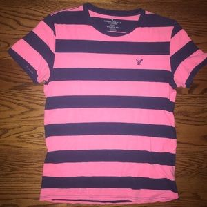 American Eagle striped T-shirt S/M